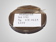 Produkt Lote | Stahlgold-Lot 930